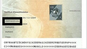 numéro formule carte grise Ancienne carte grise : où le trouver le numéro de formule du