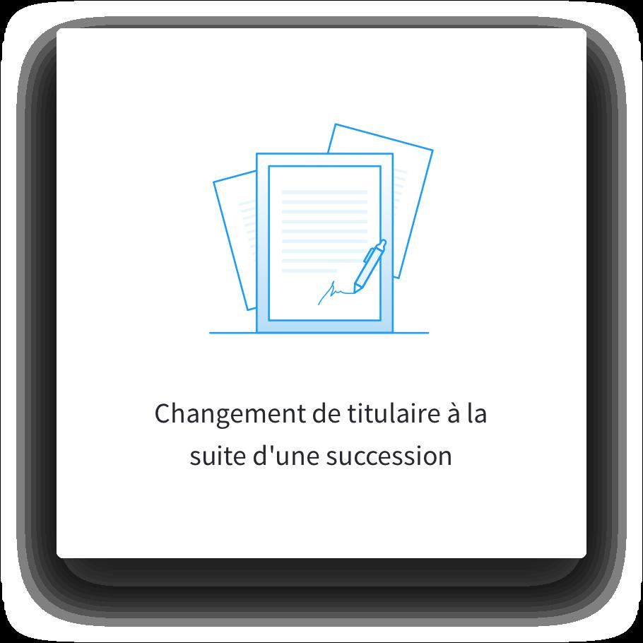 changement carte grise succession Changement de titulaire à la suite d'une succession   Eplaque.fr