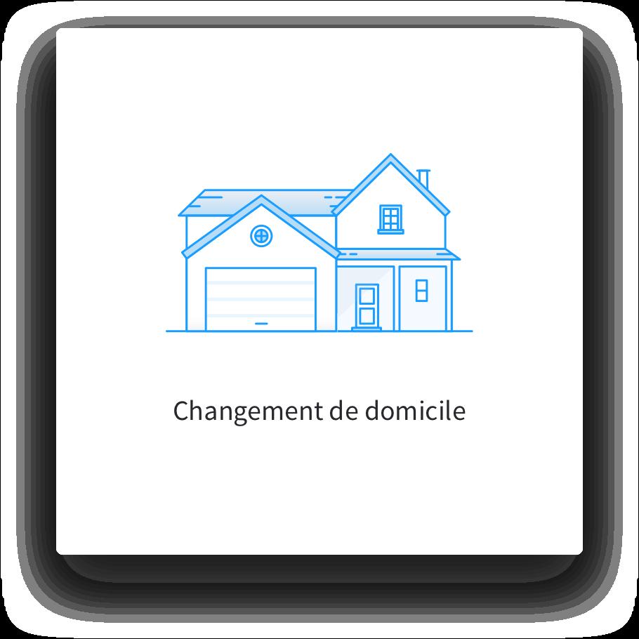 Changement de domicile sur une carte grise - Eplaque.fr